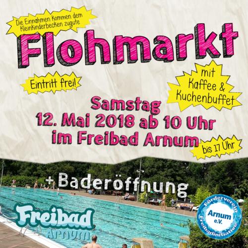 12.05.2018: Baderöffnung mit Flohmarkt