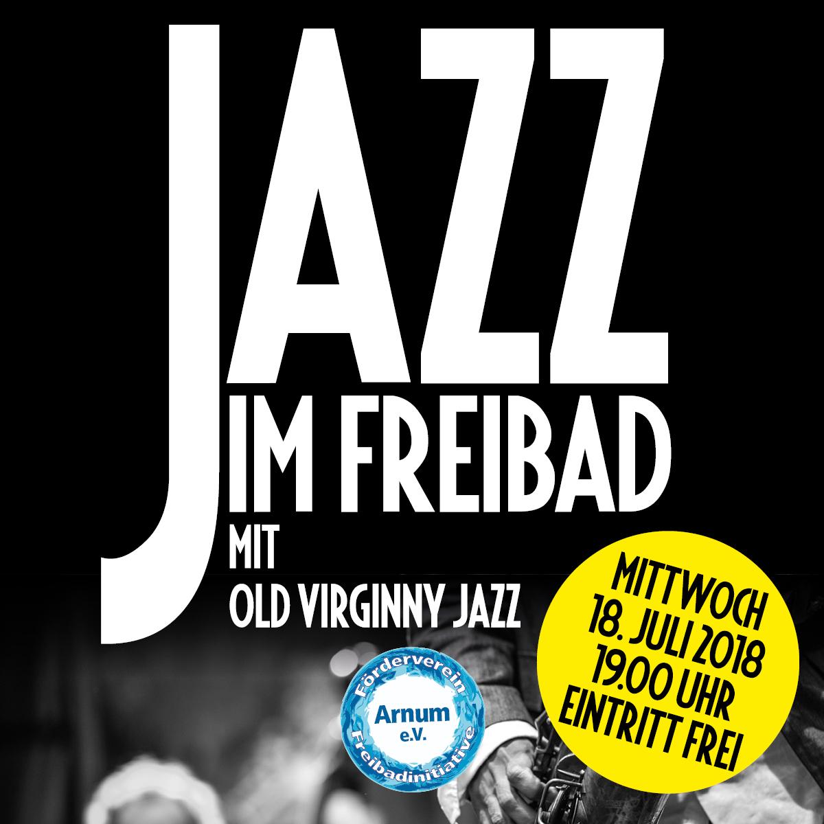 18.07.2018: Jazz im Freibad