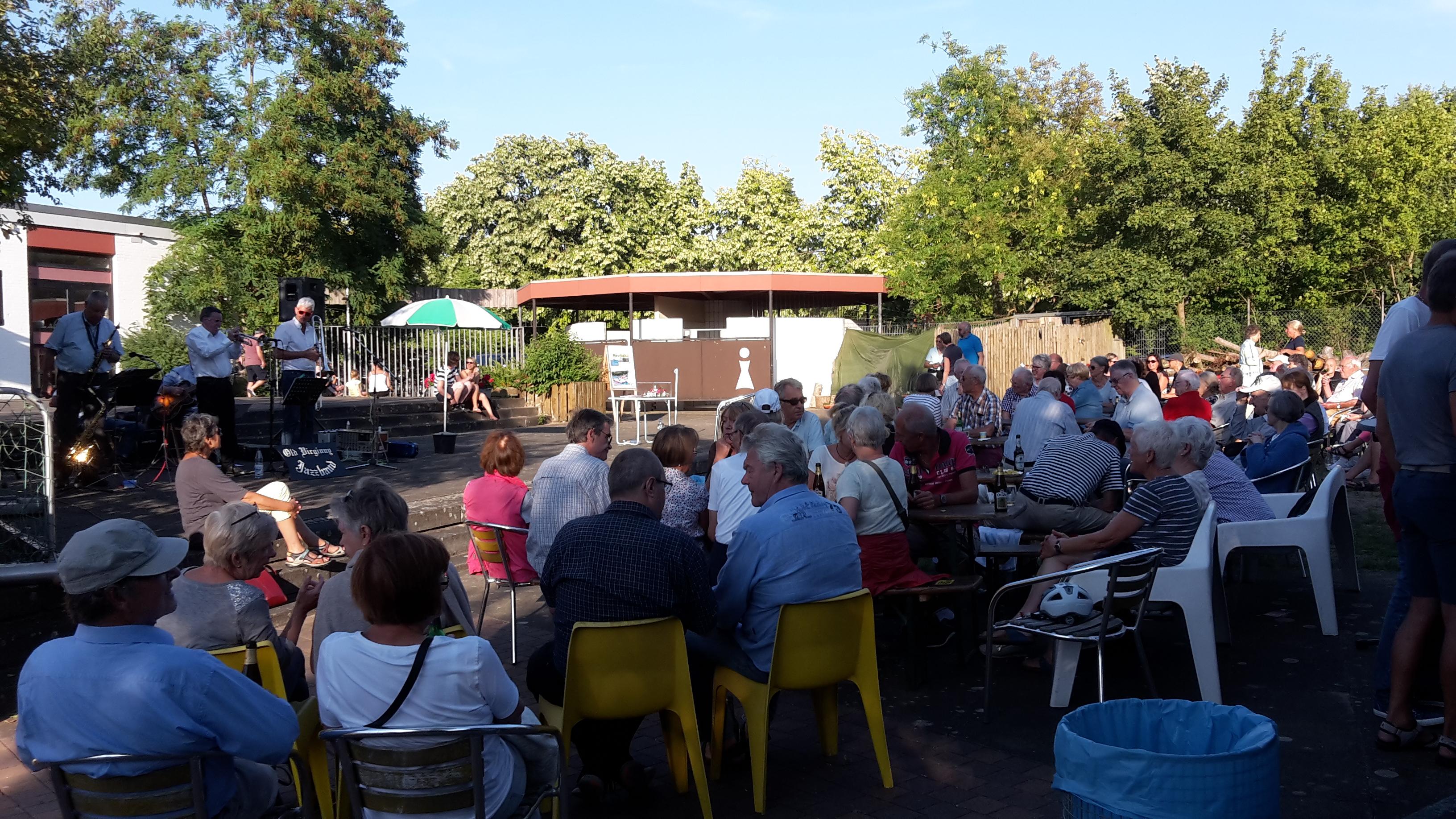 Old Virginny Jazz im Freibad Arnum