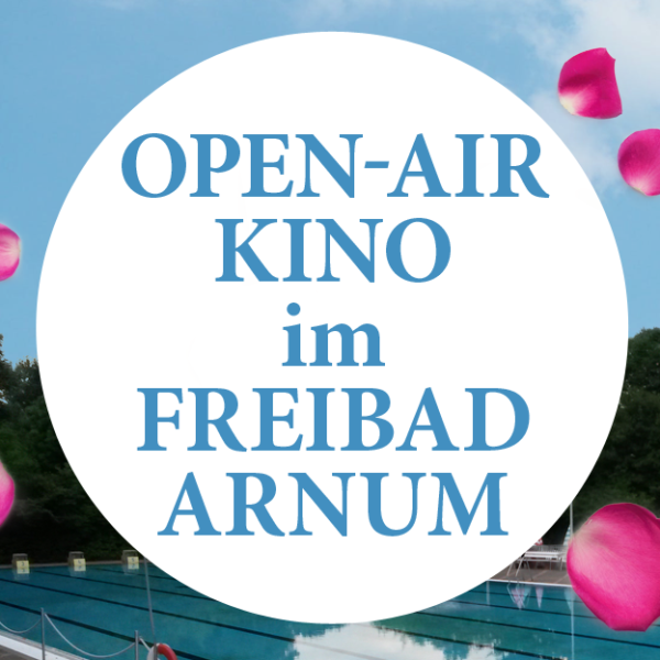 Open-Air-Kino am 31.08.2019